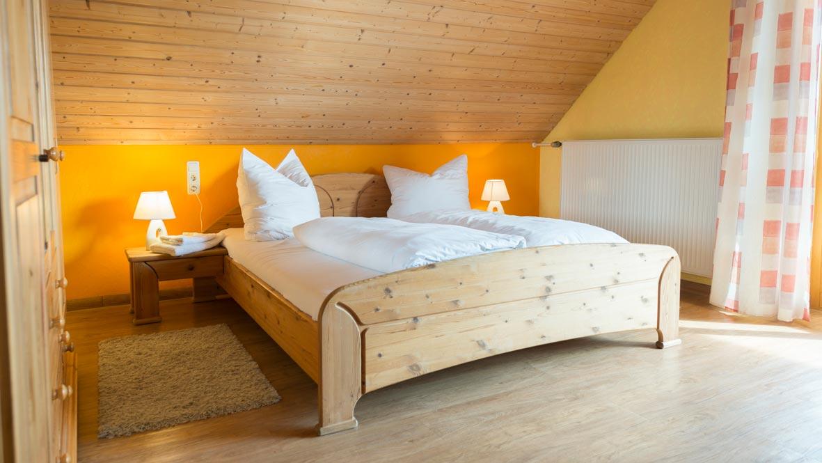 Übernachtung im Doppelzimmer in der Pension nahe Ansbach