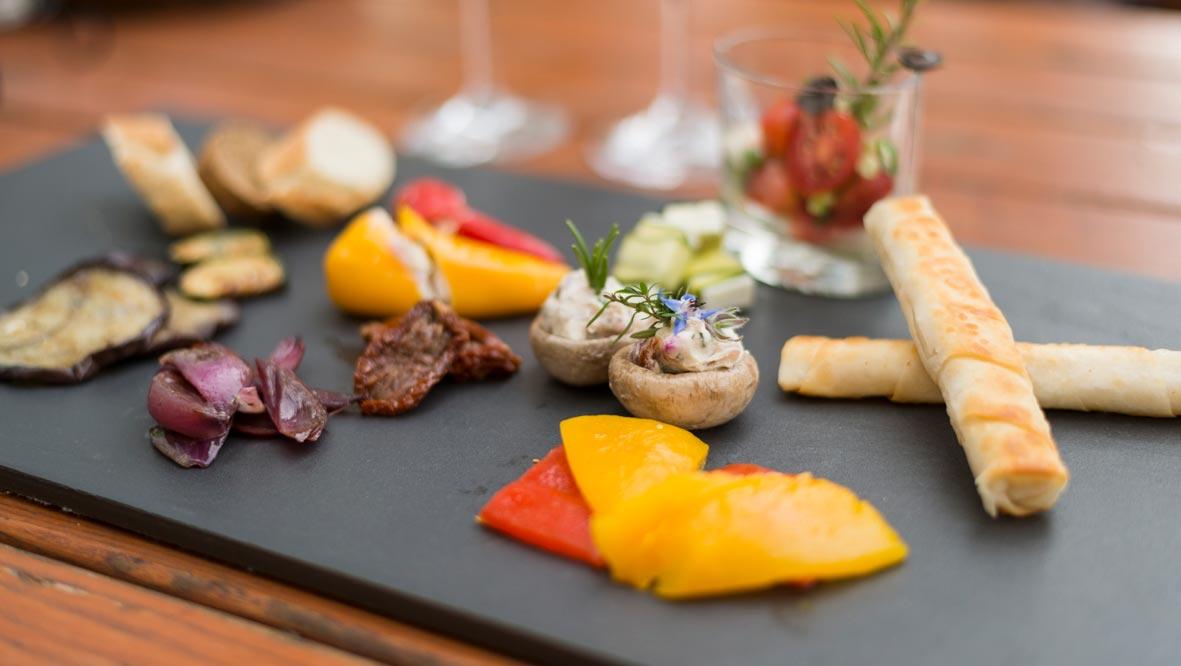 Catering mit fränkischem oder italienischem Essen